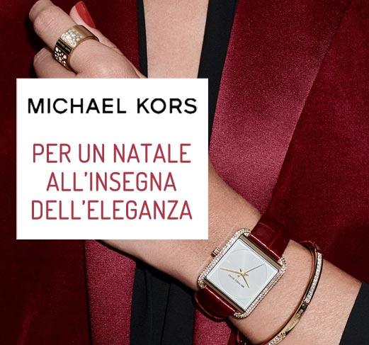 Idee Regalo - Promozione Michael Kors